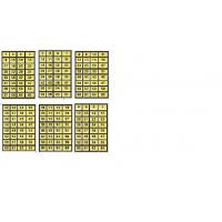 Cartelas de Números para Chapeira